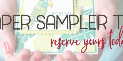 2018 Holiday Catalog Paper Sampler