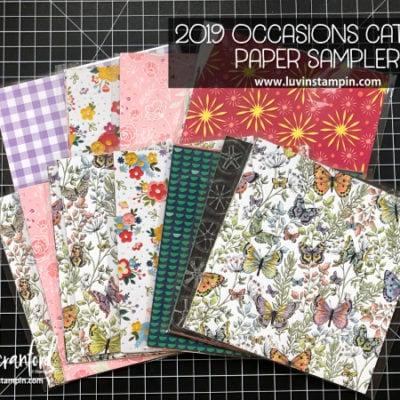 2019 Occasions Paper Sampler