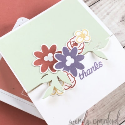 Bouquet Blooms Gatefold Fun Size Card