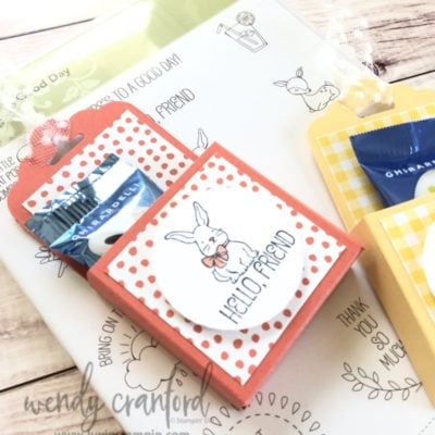 Chocolate Easter Goody Box & Blog Candy Winners