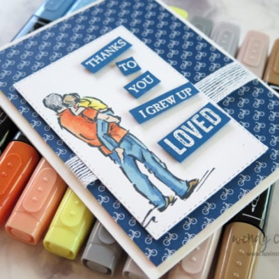 A Good Man Stamp Set & Story